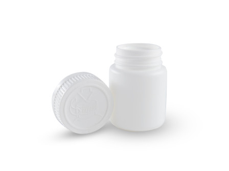 Pojemnik 65 ml. z bezpieczną nakrętką